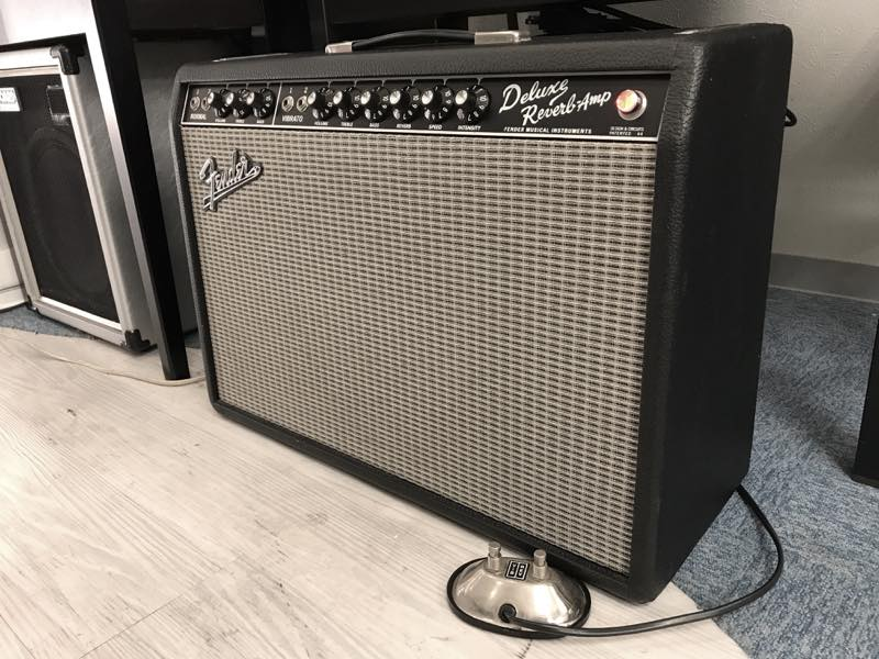 Fender USA '65 Deluxe Reverb-Amp 買取させて頂きました!のサムネイル