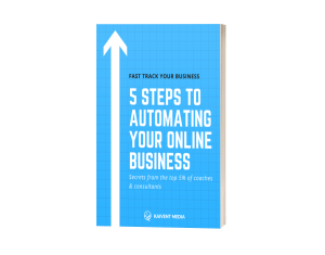 Kaivent Media - 5 Steps to Automating Your Online Business Cover