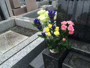 東京海洋散骨のお墓参り代行