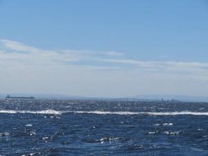 アクアライン付近海洋散骨