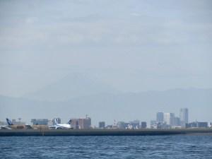 富士山と海洋散骨