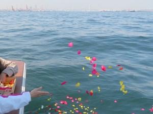 横浜の海へ散骨