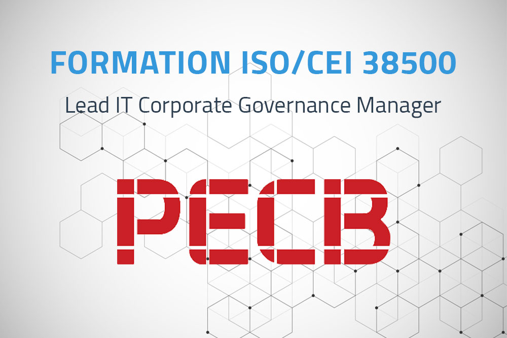 ISO/CEI 38500 Lead IT Corporate Governance Manager