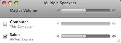 multiple speakers