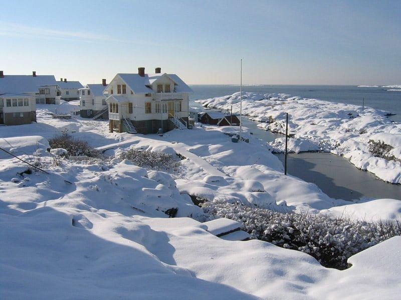 Vinter på Käringön - februari 2004