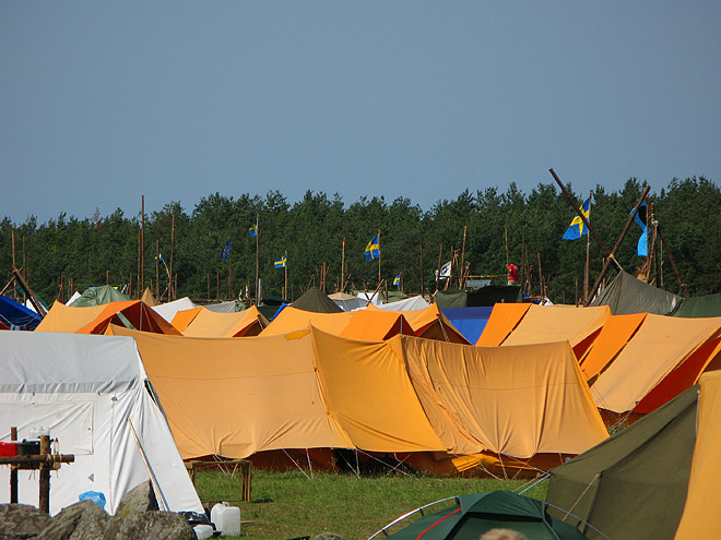 Jiingijamborii - Scoutläger vid Åhus 2007