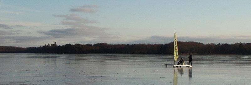 isjakt på västersjön