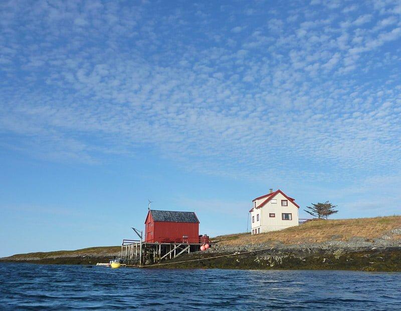 Hus i Åsværarkipelagen