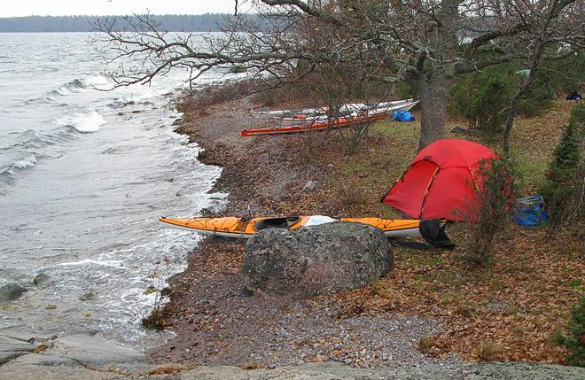 Lördagsmorgon på Snuggö, 1:a advent 2008