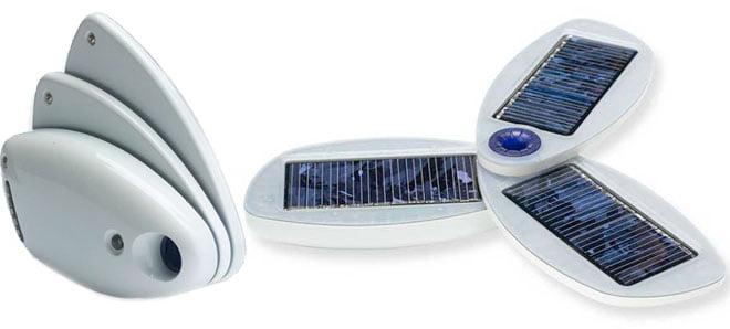 Solio Classic, laddbart batteri och solladdare
