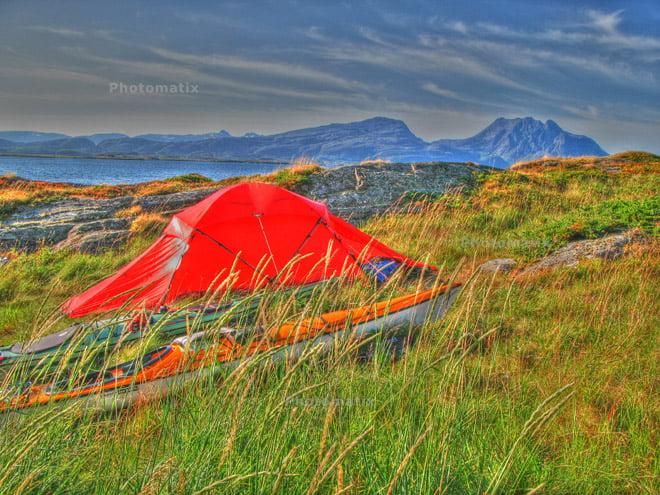 Slapøy, Helgelandskusten från i somras.