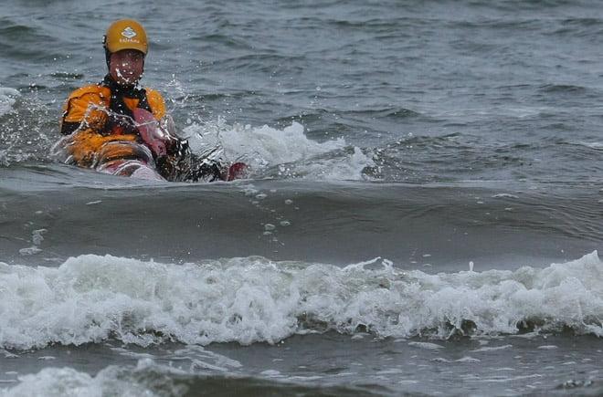 Erik jagar vågor