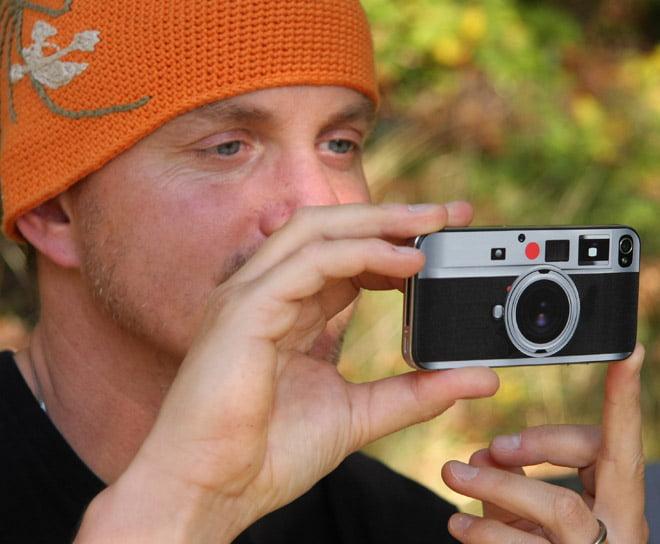 Leica Look-alike skin på iPhone