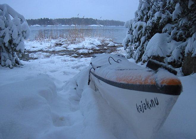 Clapotis i snön