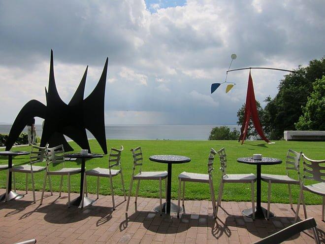 Utsikt från restaurangen. Får duga ;)
