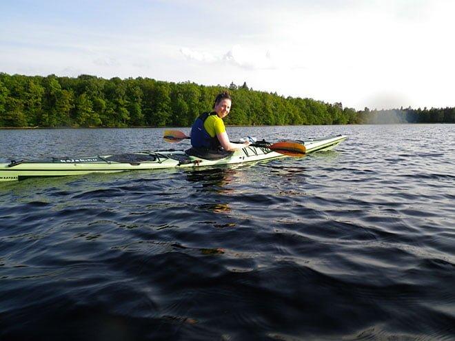 Pia på sjön
