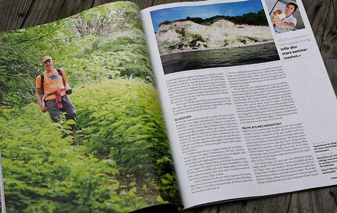 Reportage om vandring på Ven