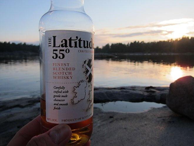 Latitude 55°