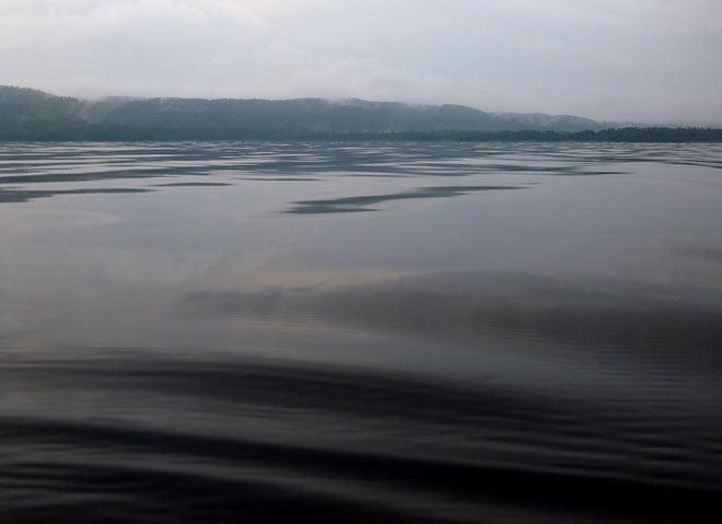 Stilla på sjön
