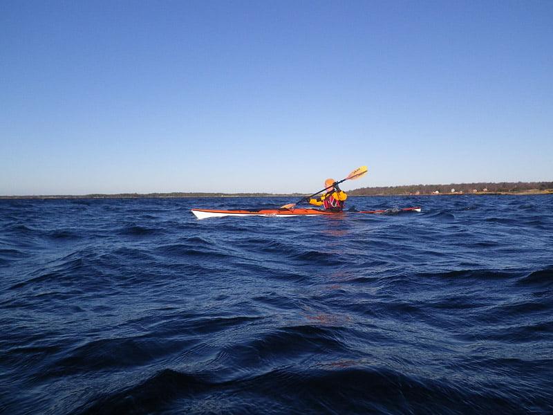 Jag med Örö i bakgrunden
