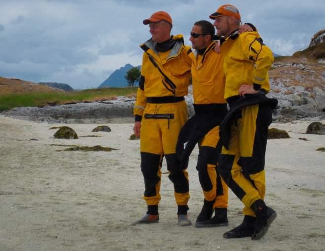 Tre gånger Kokatat torrdräkt i norge