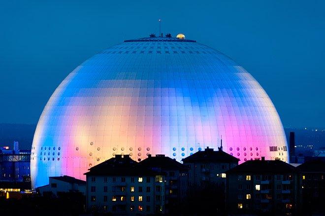 Extragloben på Ericsson Globe Fotograf Klas Öjebo