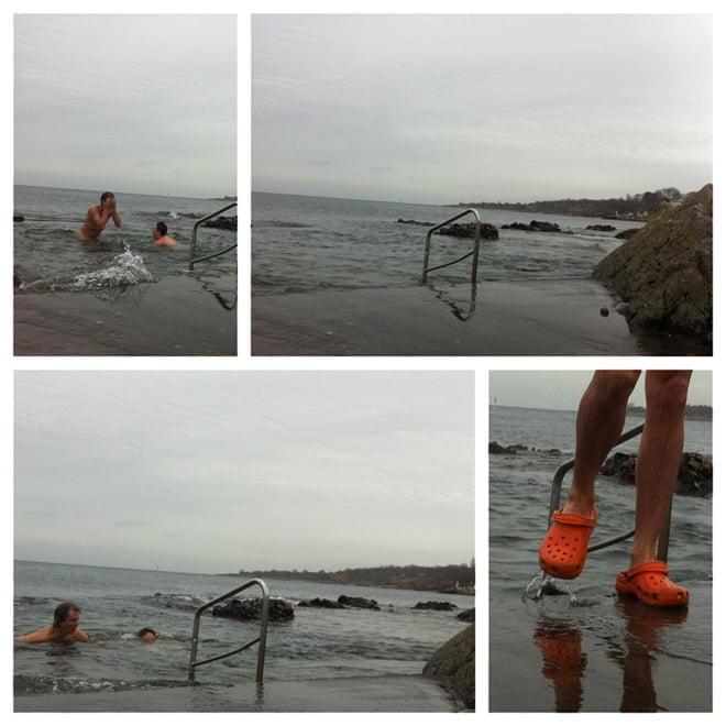 Tussans badplats, Arild
