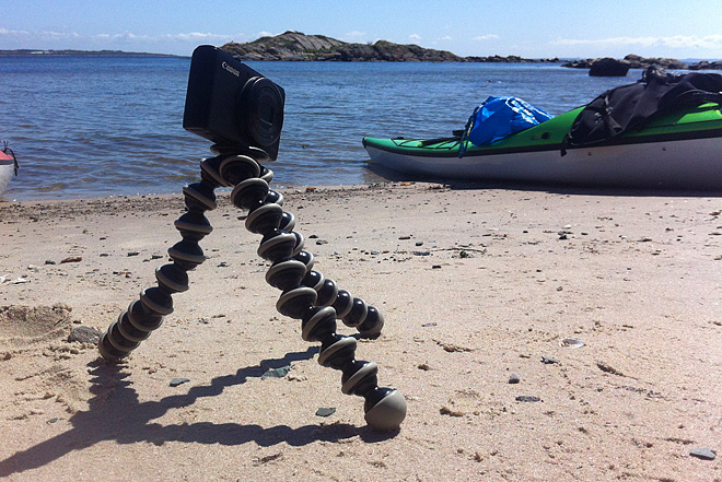 Gorillapod med Canon Powershot S95