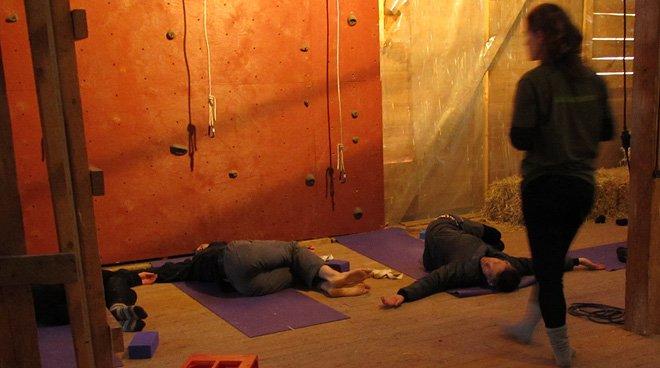 Yoga eller en blund?