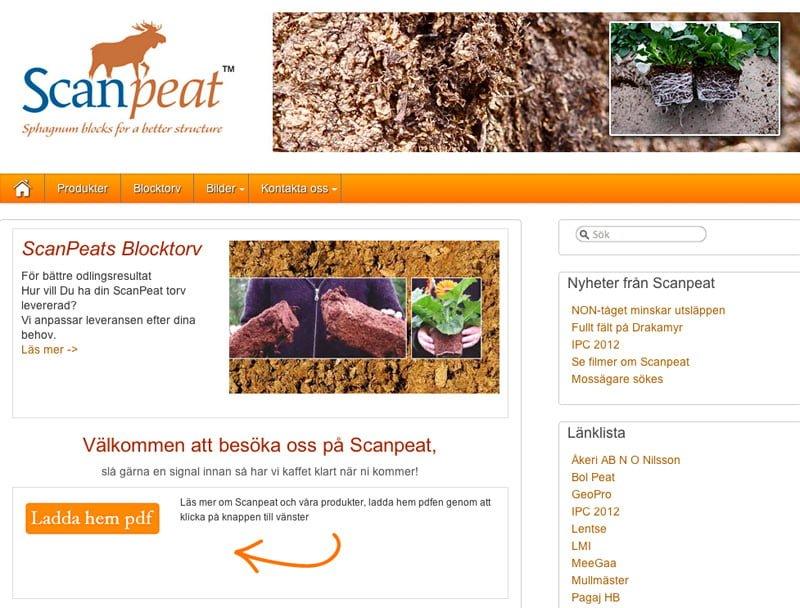 Scanpeat.com - sommaren 2012