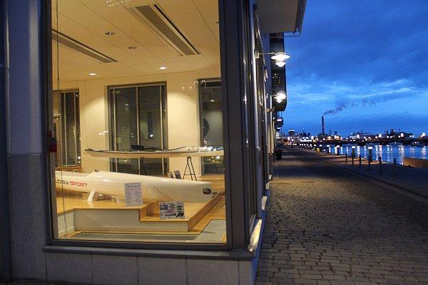 Aterra butik i norra hamnen Helsingborg