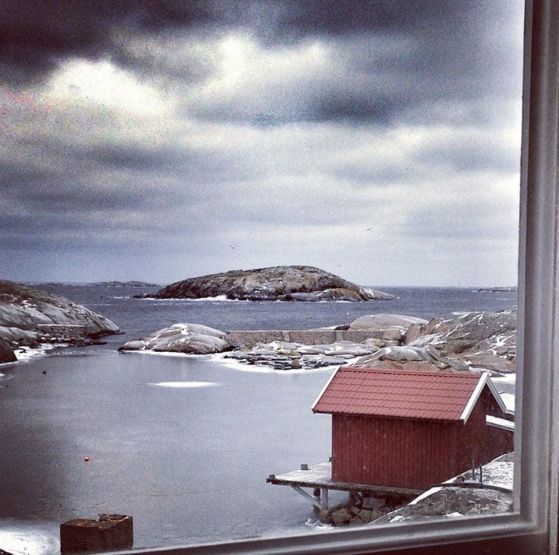 Helt ok utsikt från mitt rum... ;)