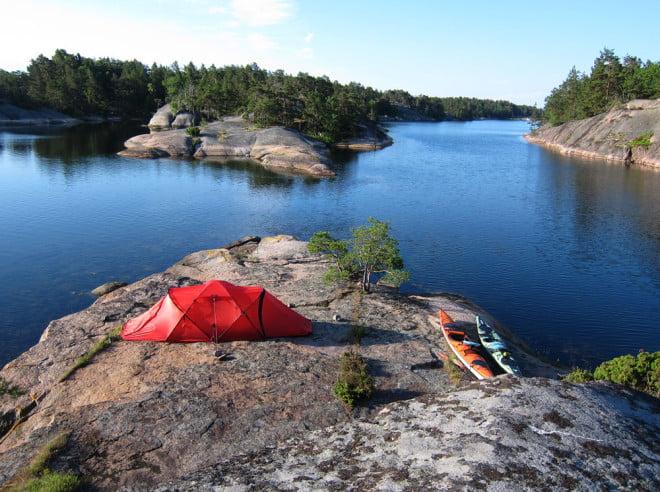 Morgon på Lilla Bergö