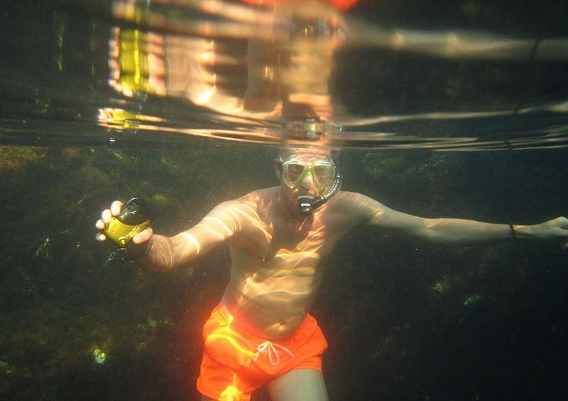 Varmt i vattnet