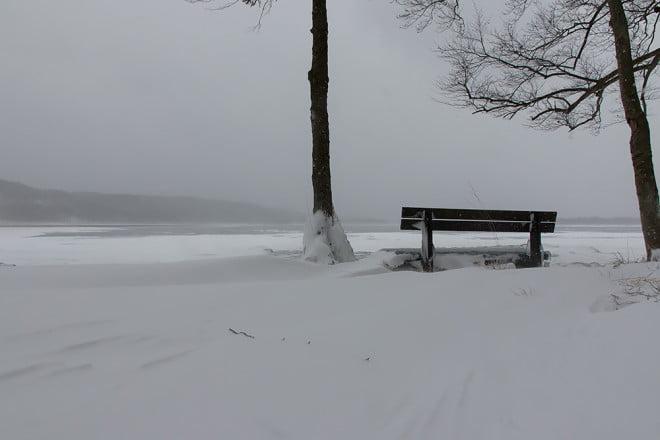 Ingen på bänken idag