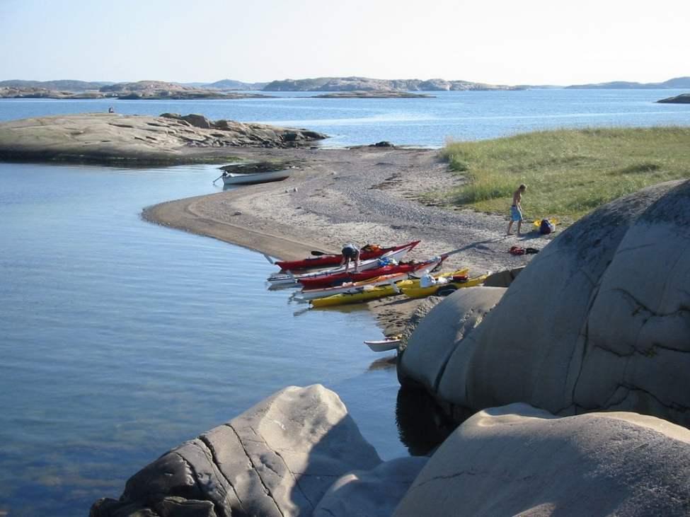 Stranden på St Måkholmen