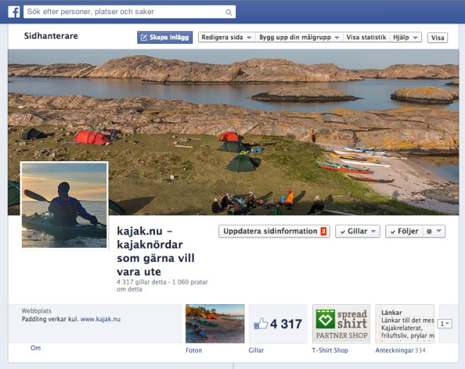 4317 facebookgillare är i alla fall några stycken ;)