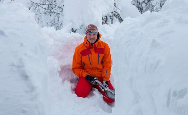 Snöhyddegrävning
