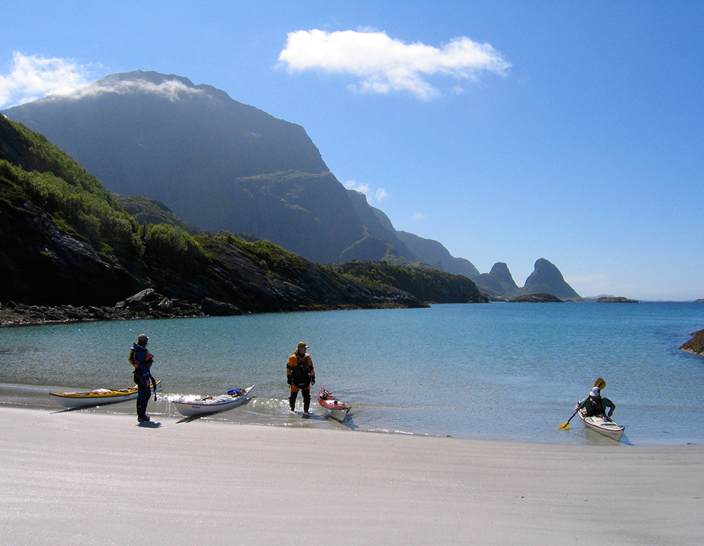 Hestvika på Tomma, Helgelandskusten i Norge.