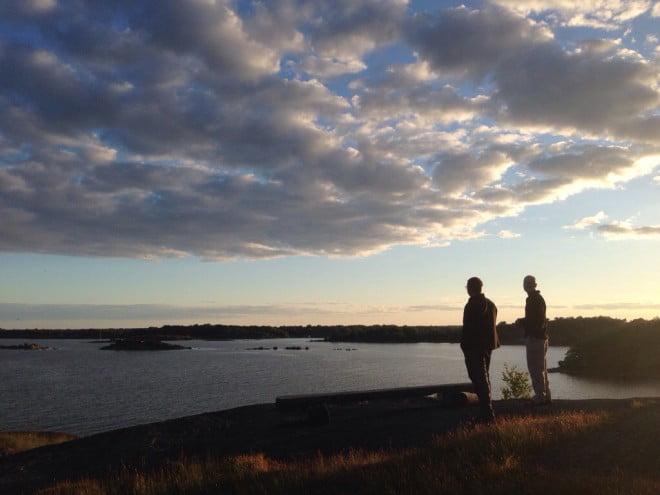 Kvällspromenad i Järnavik