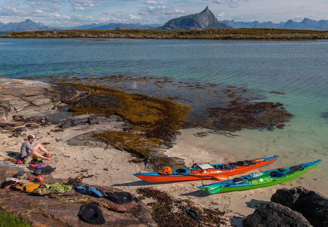 Lunchspot på södra Nesøya