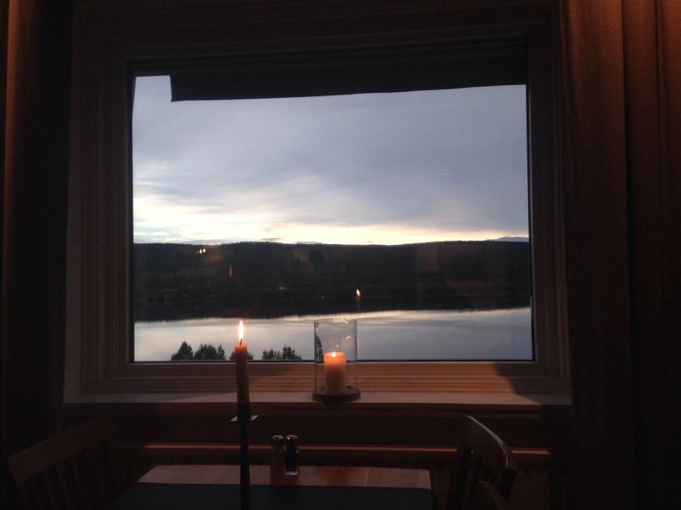 Utsikt över Funäsdalssjön