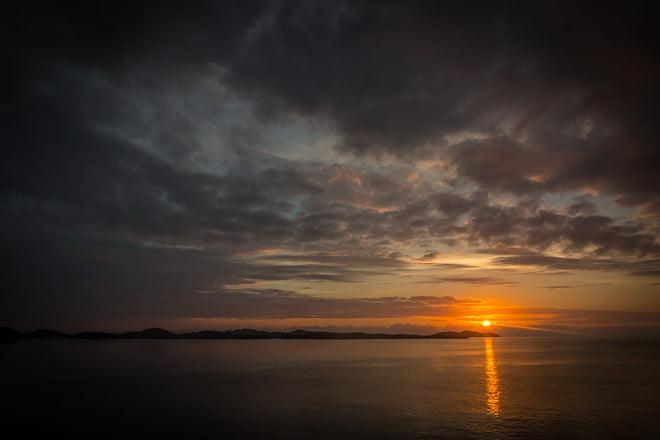 Fårdugasolnegång från Rødøy