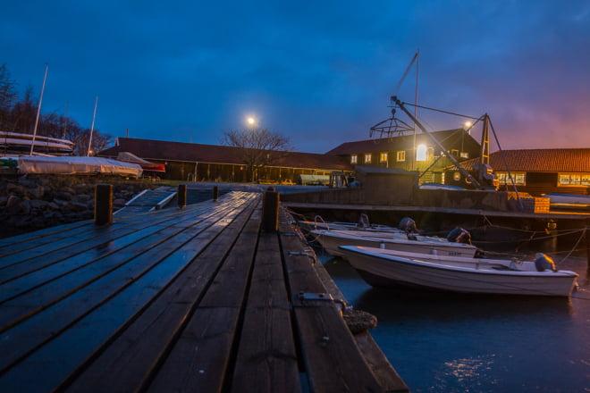 Kvällshäng vid GKF på Saltholmen