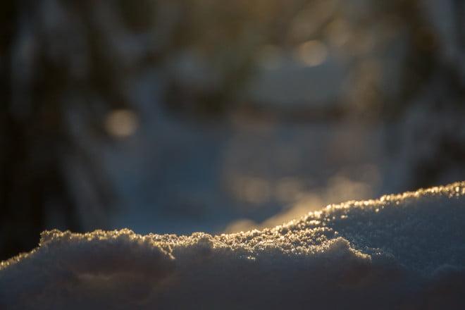 Mysigt med snö