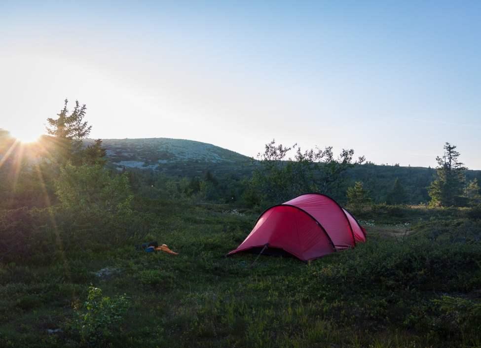 Kväll på Trysilfjell