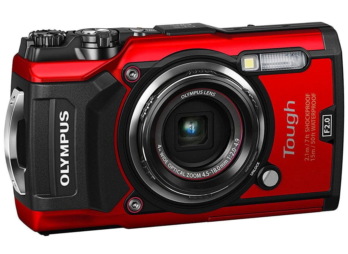 Olympus Tough TG-5 vattentät och tålig kamera