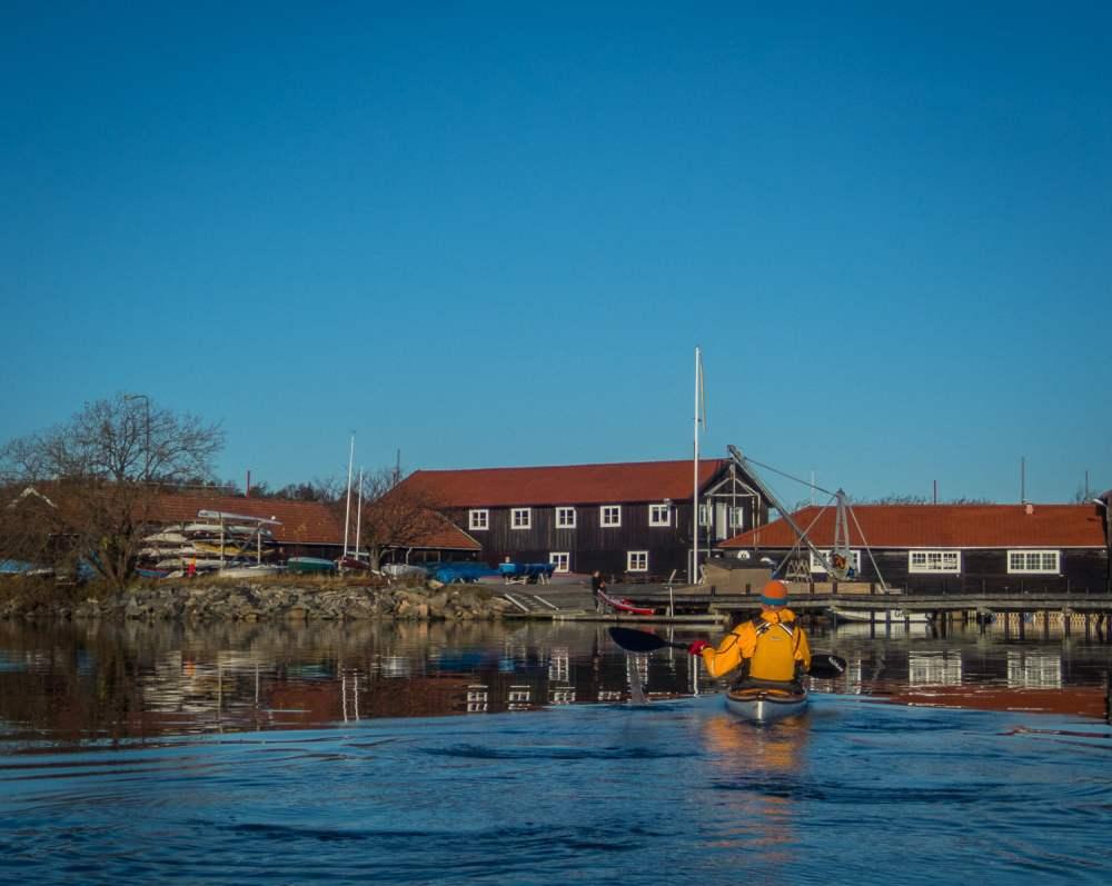 Tillbaka vid solig kanotförening