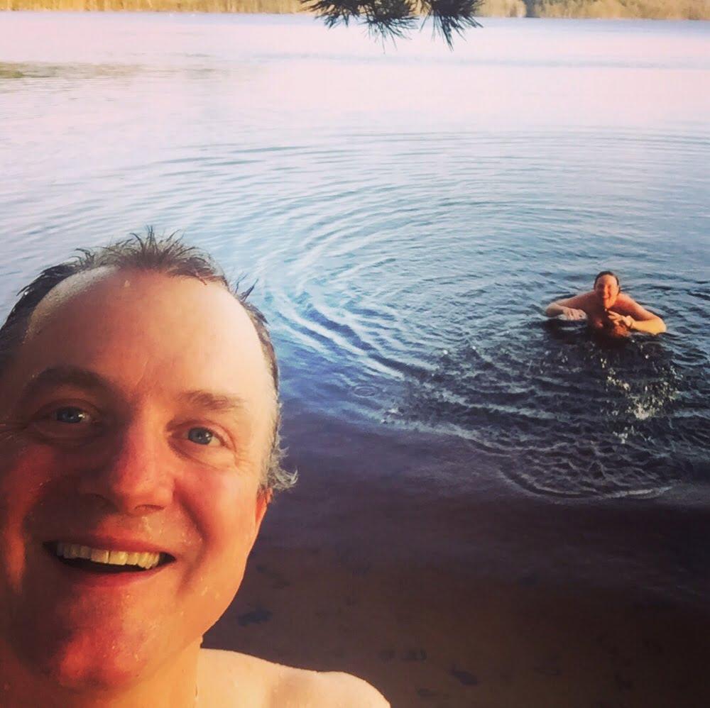 Bad i Rössjön