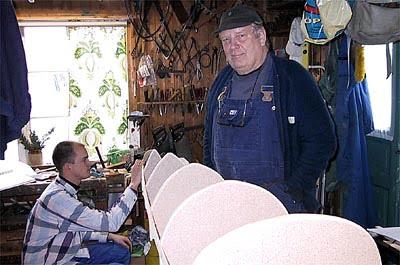 Bengt på inspektions-besök